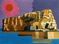 79 Le rocher Percé dans toute sa splendeur - 1995